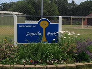 Jagiello Park Sign