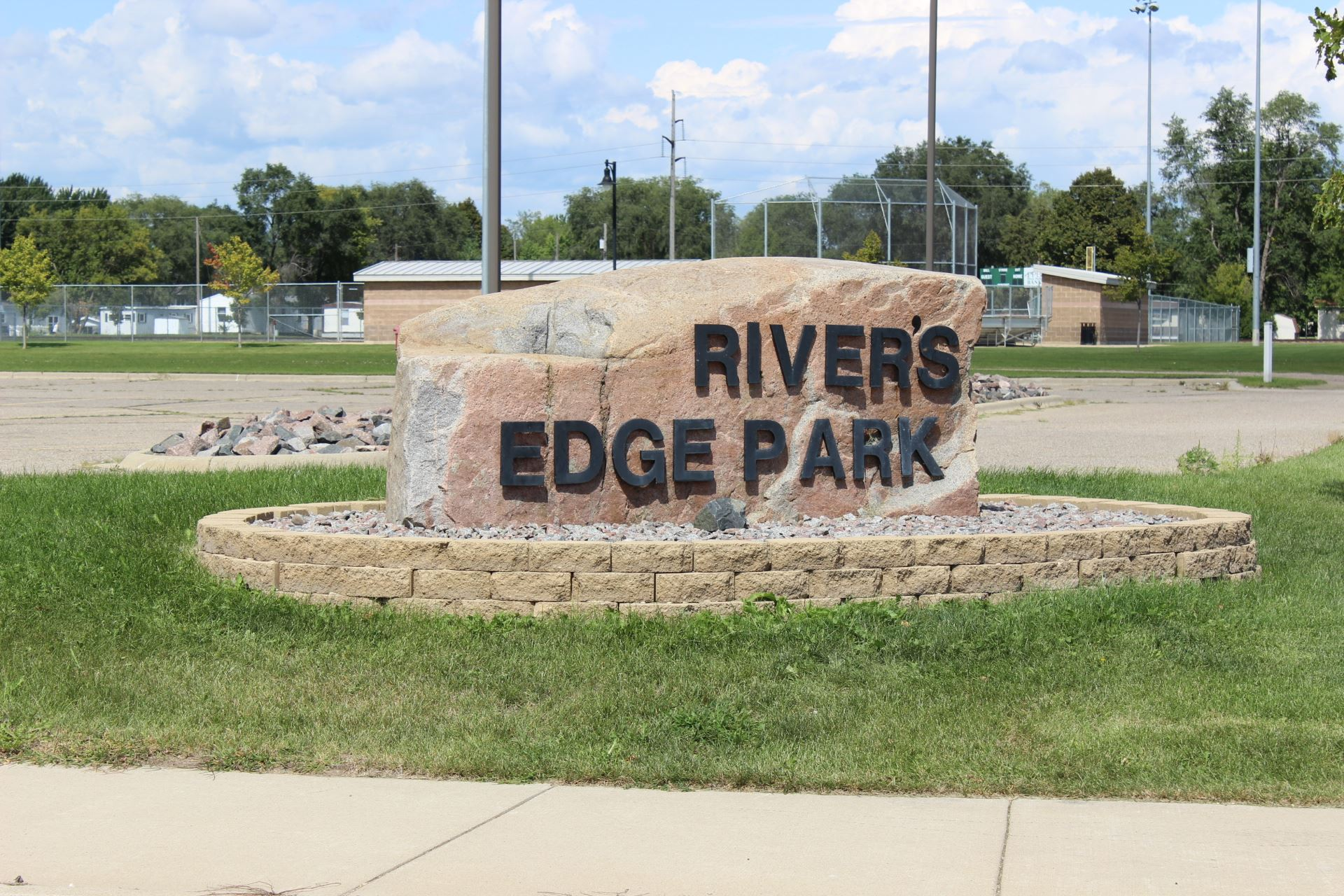Rivers Edge Park Sign